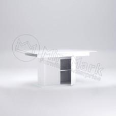 Стол столовый раздвижной трансформер с дверцей Рома 150x90