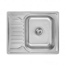 Кухонная мойка LIDZ 5848 Satin/Decor 0,8 мм