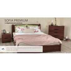 Кровать София Премиум с подъёмным механизмом