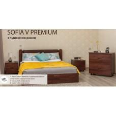 Кровать София V Премиум с подъёмным механизмом