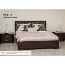Кровать Милена с мягкой спинкой и подъёмным механизмом
