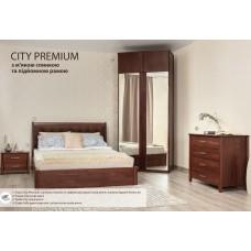 Кровать Сити Премиум с мягкой спинкой и подъёмным механизмом