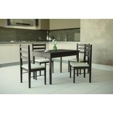 Обеденный стол комплект + 4 стула Брауни Omni Home