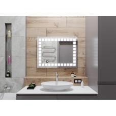 Зеркало Квадро с подсветкой 76х56