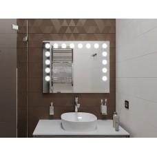 Зеркало Сайв с подсветкой 68х70