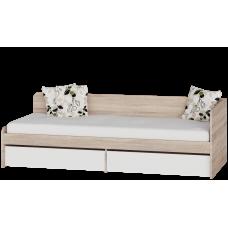 Кровать Соната 800  с ящиками  80х190  Omni Home