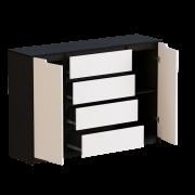 Цвет изделия: Комби Белый + Венге темныйМеханизмы выдвижения : Телескопические направляющие