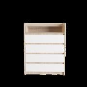 Цвет изделия: Комби Сонома + Белый